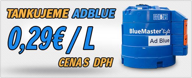 Tankovanie Ad Blue